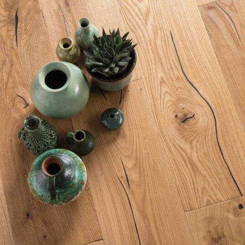 פרקט עץ תלת שכבתי בוהן אלון מבוקע