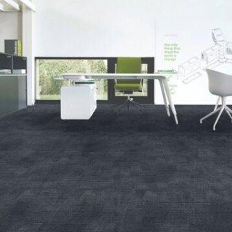 אריחי שטיחים שחורים למשרדים
