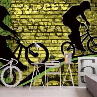 טפט אופניים בריקים