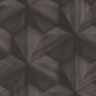 טפט גאומטרי כוכבים שחורים