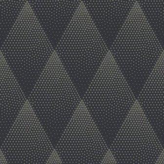 טפט גאומטרי מעויינים שחור