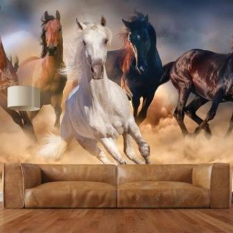 טפט דיגיטלי סוסים