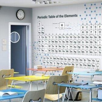 טפט דיגיטלי שיעור בכימיה