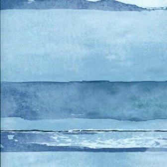 טפט פסים דמוי ים