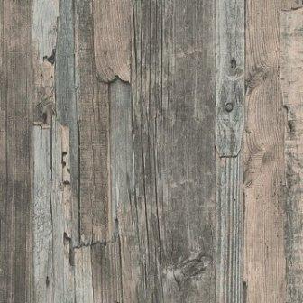 טפט קורות עץ חום ירוק