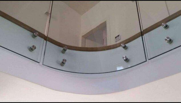 גמר הפרקט מבט מהקומה התחתונה