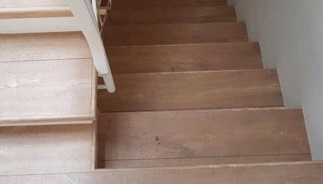 התקנה-של-פרקט-על-מדרגות