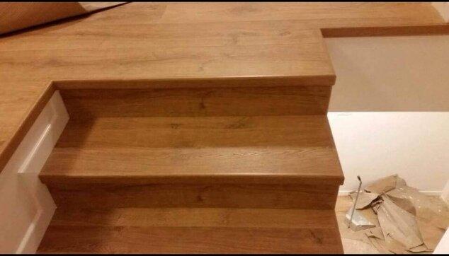 מדרגות מפרקט למינציה עם פיניש מושלם