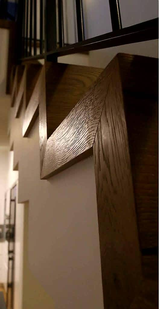 התקנת פרקט עץ פרופיל דופן צד