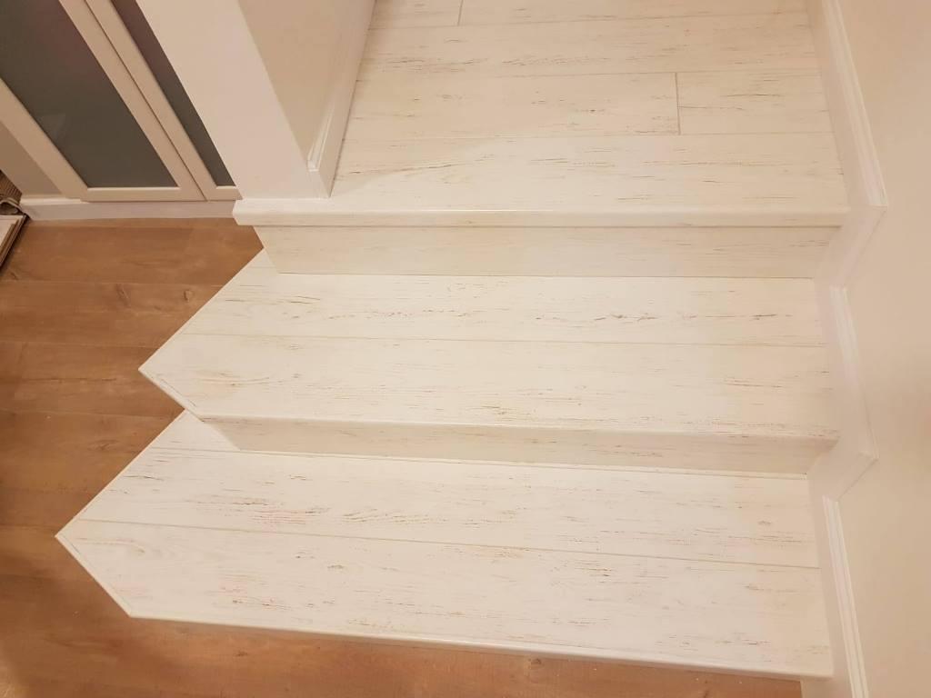חיפוי מדרגות מיוחדות בפרקט למינציה