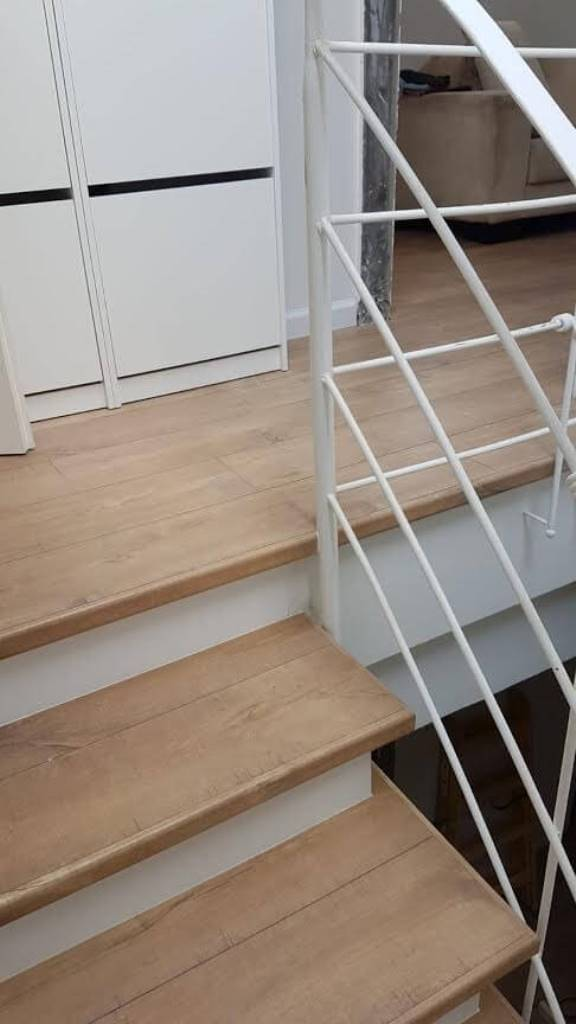 מדרגות מושלמות מפרקט למינציה