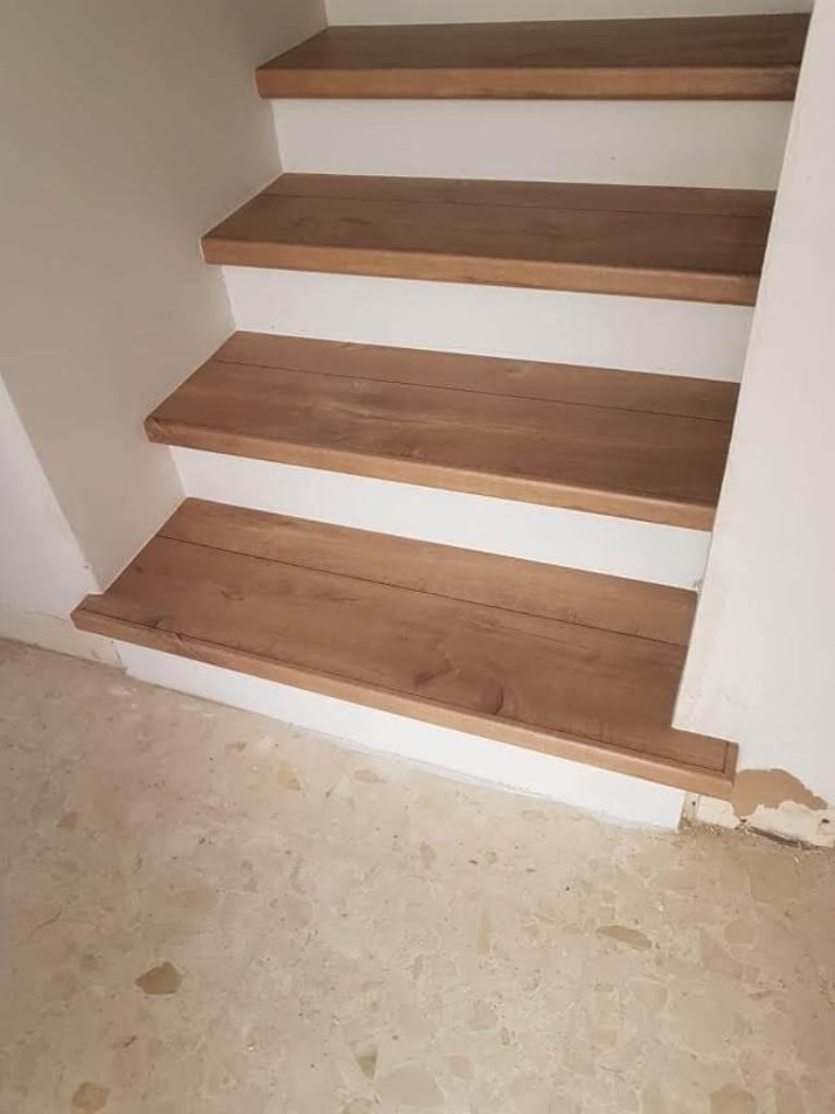 פינישים מושלמים פרקט למינציה מדרגות