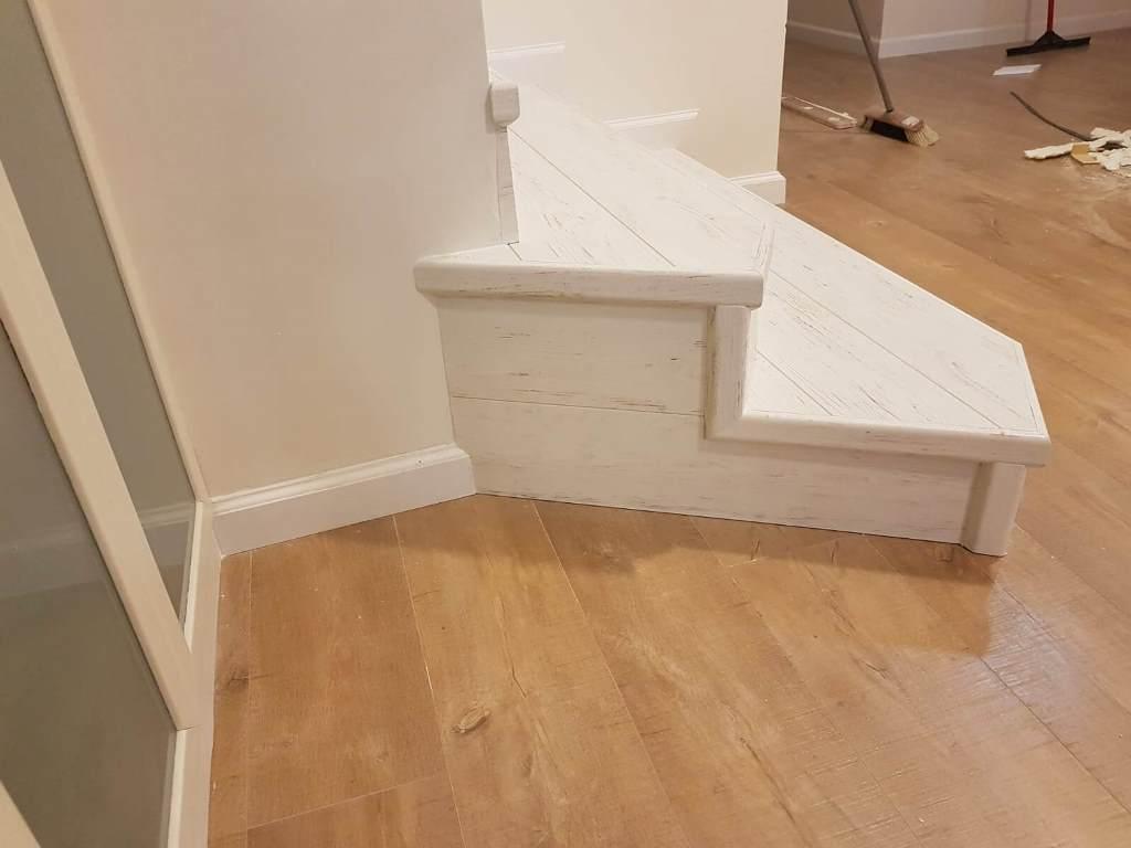 פיניש מושלם בהתקנת מדרגות
