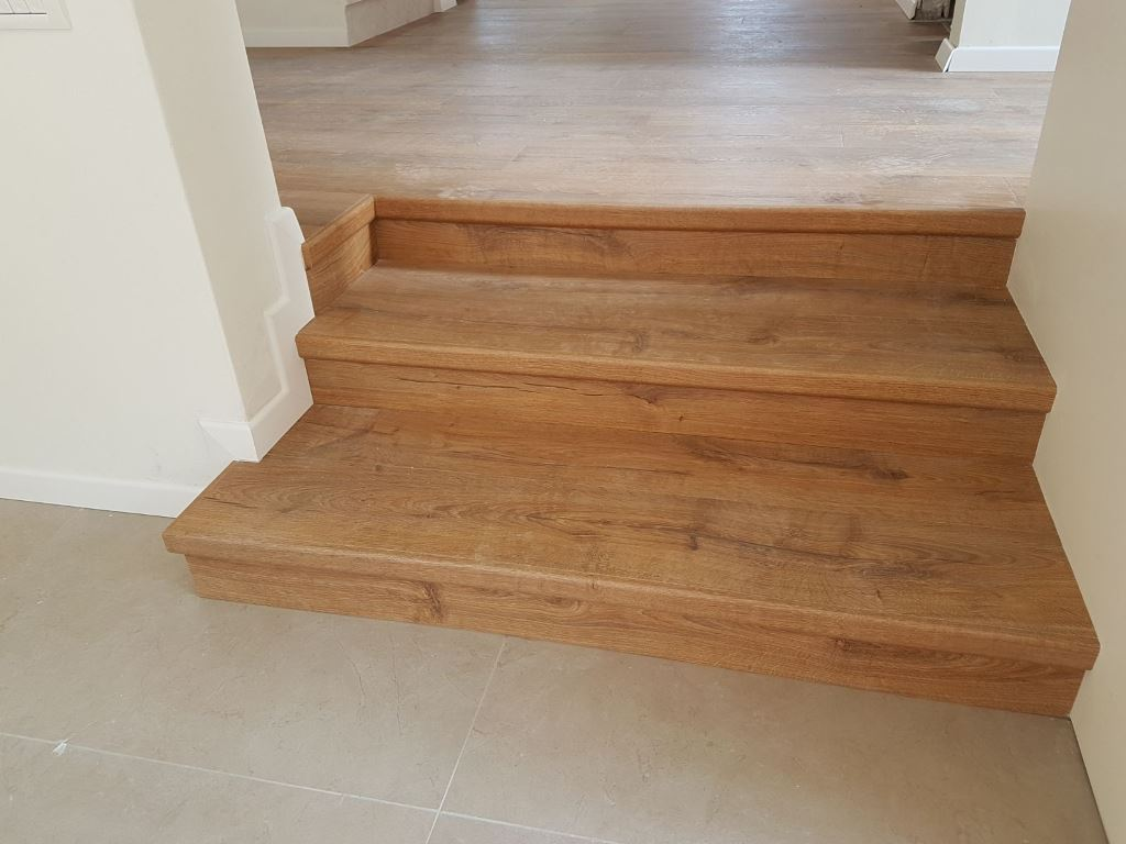 דגש על הפרטים הקטנים בהתקנת פרקט על מדרגות