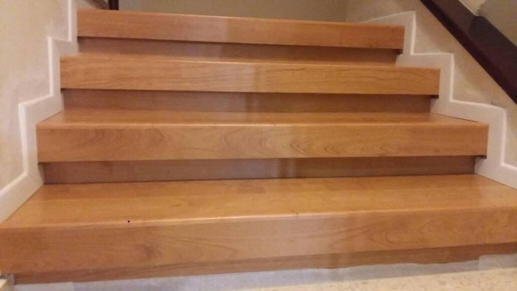 חיפוי מדרגות רום ושלח עם סף מדרגה מושלם